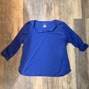 Blue top mixed material